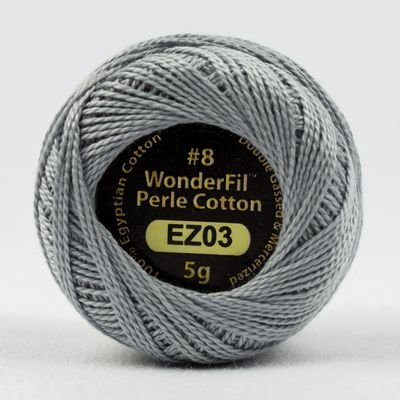 Eleganza Pearl Cotton#8 in Tumbled Stone