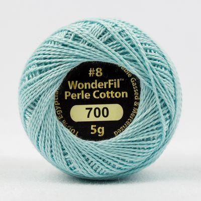 Eleganza Pearl Cotton#8 in Magic Mint