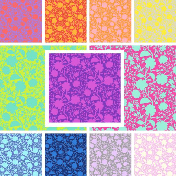 PRE-ORDER   True Colors-Wildflower Fat Quarter Bundle (11)