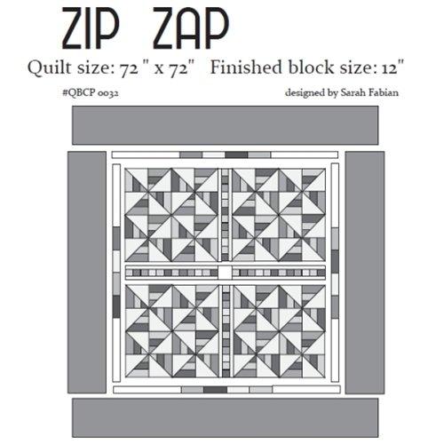 Zip Zap - Cutie Pattern
