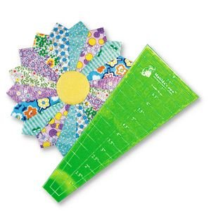 dresden wedge acrylic template - 10 inch long