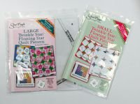 twinkle star floating star ruler SET - 5 inch and 8 inch finished
