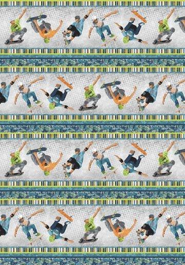 Sale Skate by Northcott Studio 20947 92+