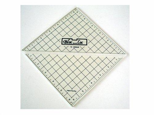 Bloc_Loc Half Square Triangle Ruler 6.5
