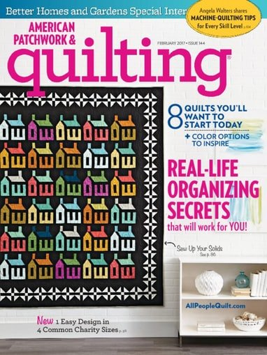 American Patchwork & Quilting Magazine Feb. 2017^