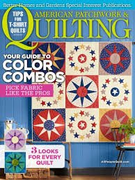 American Patchwork & Quilting Magazine June 2016^ +