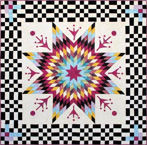 Checkmate Kit by Jean Impey for Hoffman Fabrics