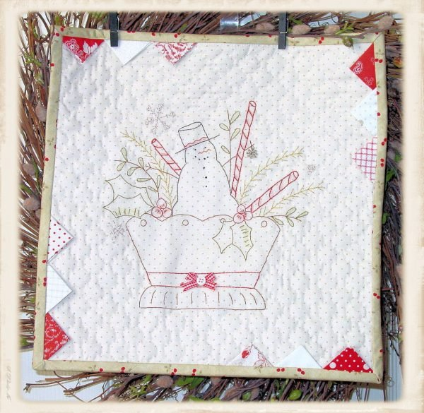 Christmas Basket by Plumcute Designs #1610^
