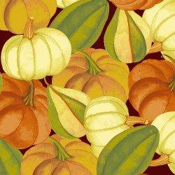 Autumn Reverie for Clothworks Y2181-15 Brown+