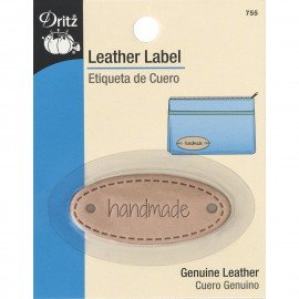 Leather Label (Handmade) by Dritz^