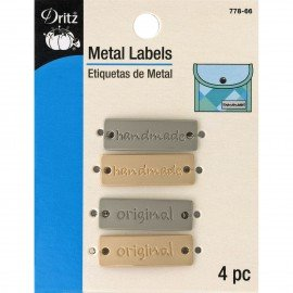 Metal Labels (4) by Dritz@