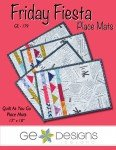 Friday Fiesta Place Mats pattern by GE Designs@