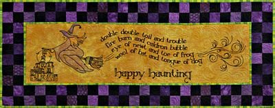 Happy Haunting Pattern by Claudia's Creations Machine Embroidery+