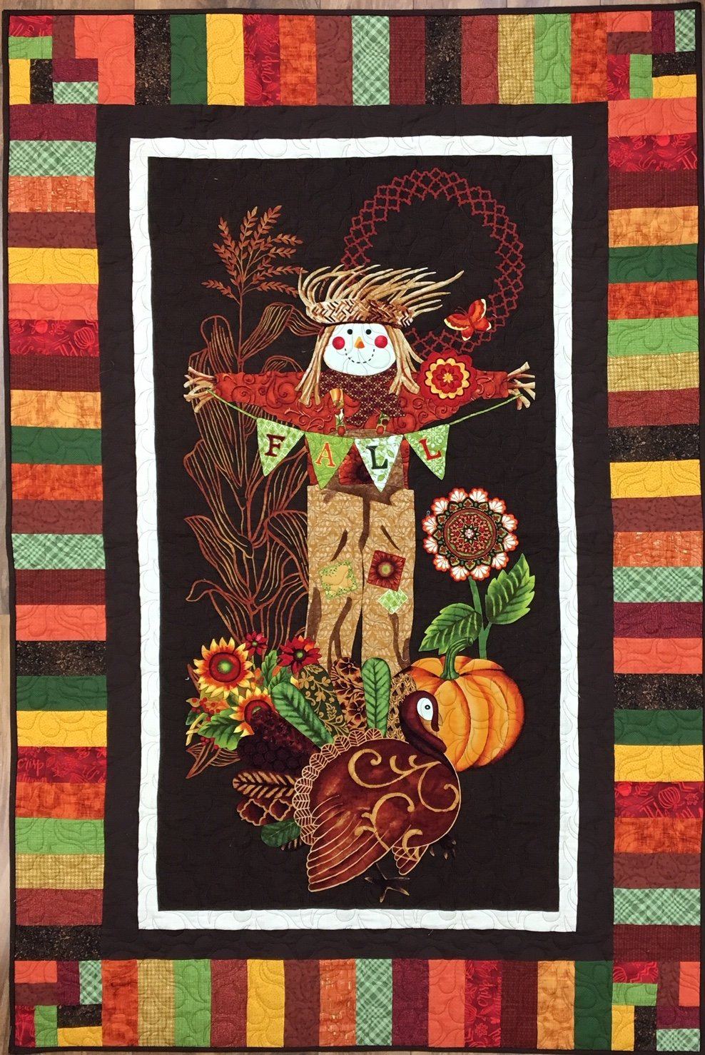 Fall Festival Scarecrow Panel Kit^