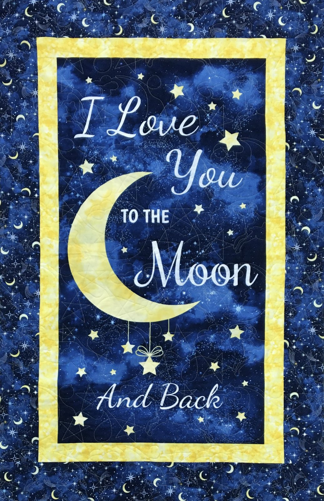 I Love You To The Moon and Back II Panel Kit