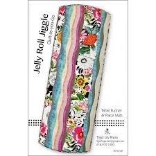 Jelly Roll Jiggle Pattern@