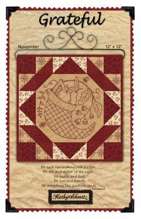 Sale Grateful Embroidery by Kathy Schmitz KS-1411+