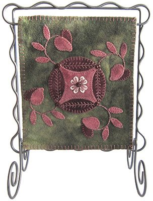 Feb Bitty Banner Pattern LAS915 by Lily Anna Stitches+
