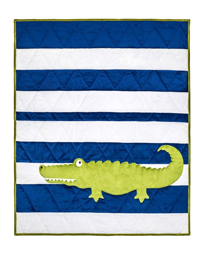 Later Gator Minkee Cuddle Kit from Shannon Fabrics ^