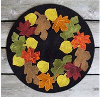 Leaf Pile Pattern by Plays with Wool Pattern^
