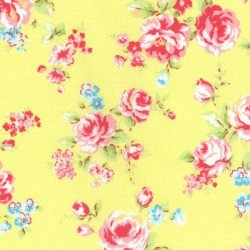 Sale Antique Flower Pastel by Lecien 31421-50+