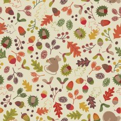 Sale Autumn In Bluebell Wood by Lewis & Irene LTD LEIA248-1+