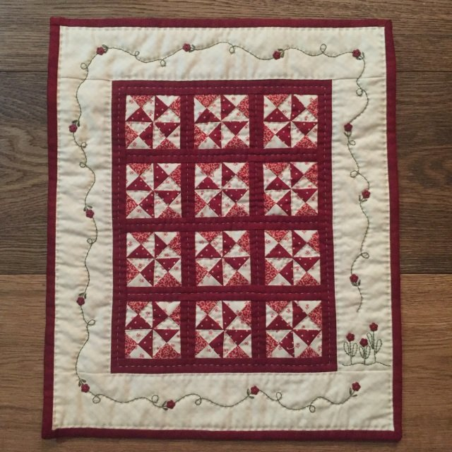 Little Red Sixteen #516 by Red Button Quilt Co.+
