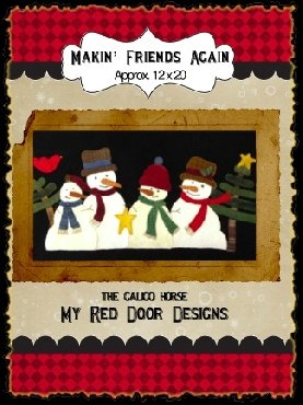 Makin' Friends Again from My Red Door Designs