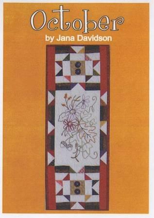 October Pattern by Jana Davidson +
