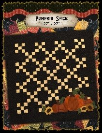 Pumpkin Spice Pattern from My Red Door Designs+