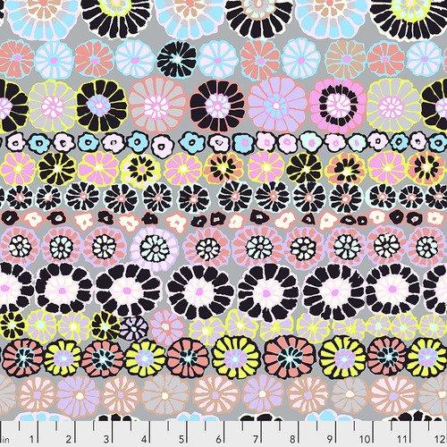 Kaffe Fassett Collective -Fall 2018 Row Flowers-Contrast+
