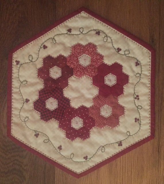 Little Red Seventeen #517  by the Red Button Quilt Co.+