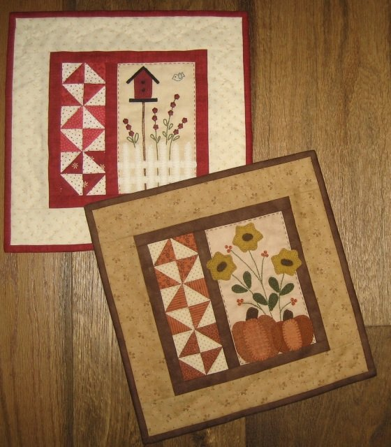 Seasons Two #407 Pattern by the Red Button Quilt Co^