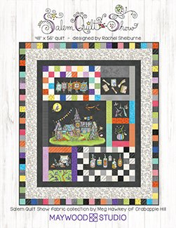 Salem Quilt Show Kit by Meg Hawkey of Crabapple Hill@