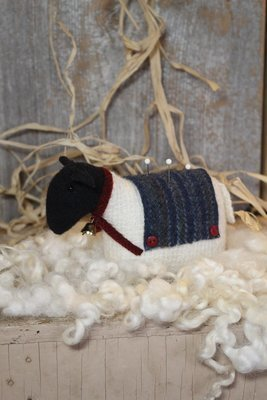 Sheep Pin Keep #634 by Cottonwood Creations+