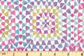 Having a Ball! by Clothworks Y3190-74 Raspberry