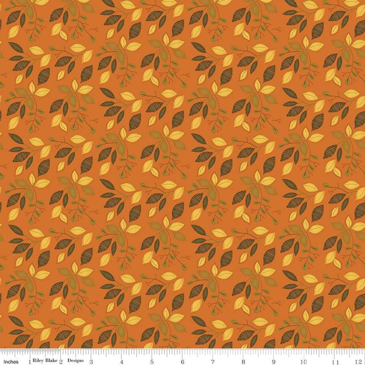 Adel in Autumn #C10822 Orange by Riley Blake
