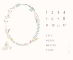Little Ducklings Growth Chart Canvas White 25109 11CV by Moda