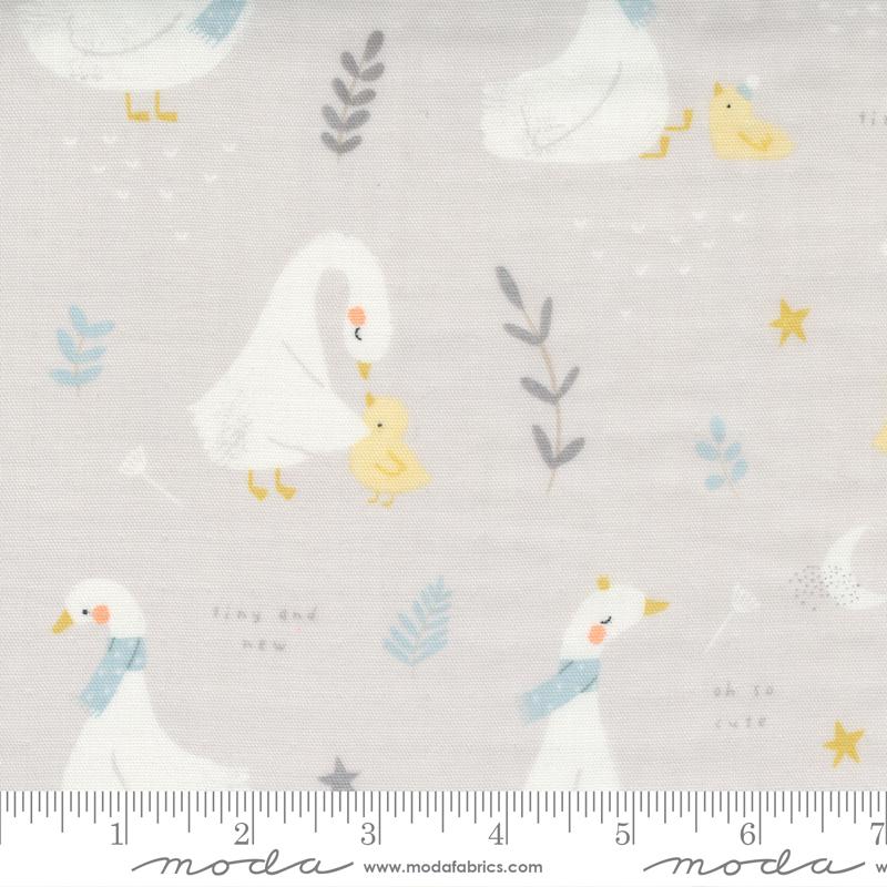 Little Ducklings Grey Ducks #25100 14 by Moda