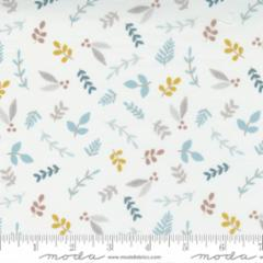 Little Ducklings Grey Small Flowers #25102 14 by Moda