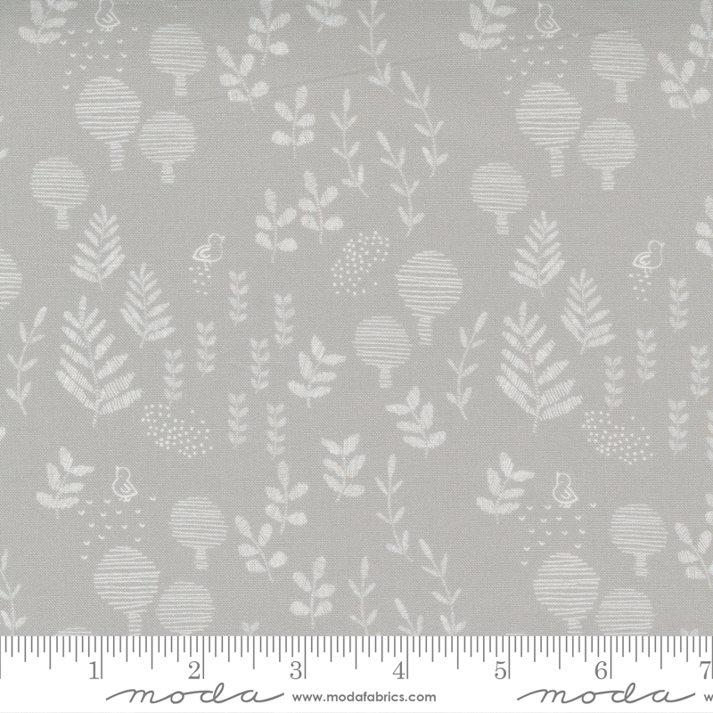 Little Ducklings Grey Greenery #25104 14 by Moda
