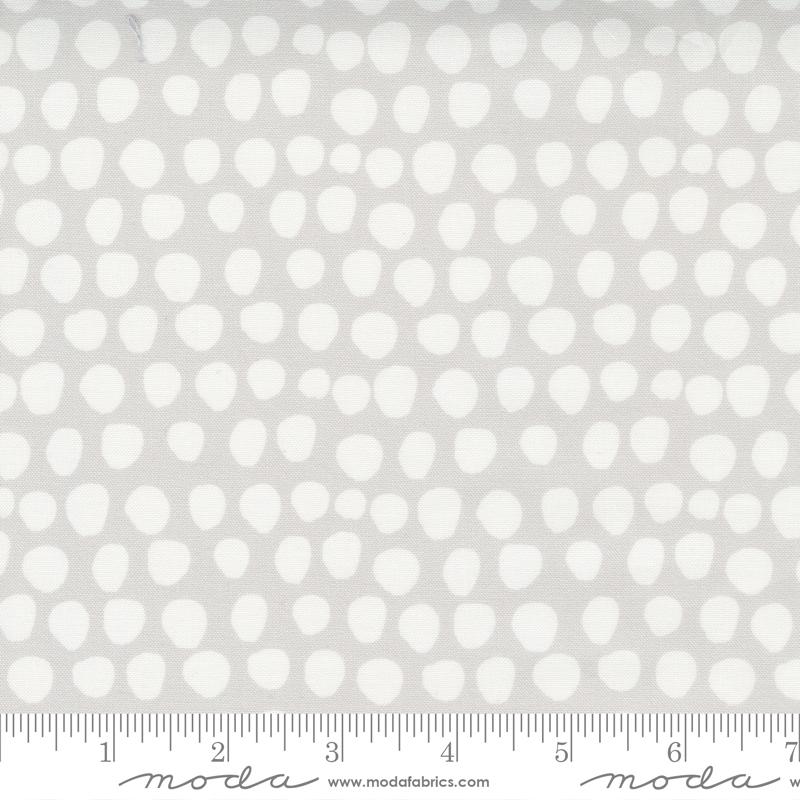 Little Ducklings Grey/White Dot #25107 14 by Moda
