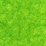 Flora By Jacqueline De Jonge  Green Leaf Cutouts Batik 3003Q-X