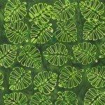 Flora By Jacqueline De Jonge  Forest Leaf Cutouts Batik 3005Q-X