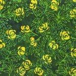 Flora By Jacqueline De Jonge  Forest Rose Bush Batik 3006Q-X