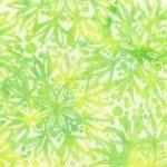 Flora By Jacqueline De Jonge  Lime Full Bloom Batik 396Q-X