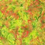 Flora By Jacqueline De Jonge  Citrus Full Bloom Batik 399Q-X