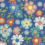 Home Grown Floral Navy 6802 11 Bolt 3