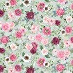 Green Small Floral by Anne Rowan 3007-68520-737+