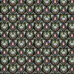 Black Damask by Anne Rowan 3007-68522-973+